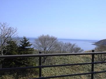 0515利尻島でのサイクリング(鴛泊の辺へ展望).JPG