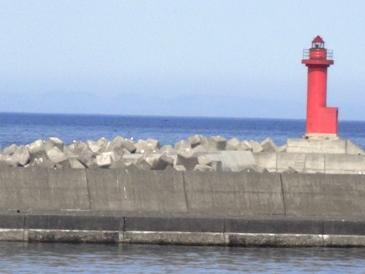 0515利尻島ー鴛泊港の灯台.JPG