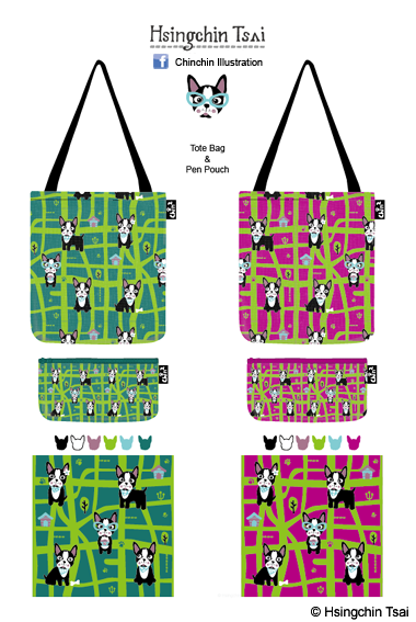 Cats and Dogs Pattern-Doggie Adventure(3)-03