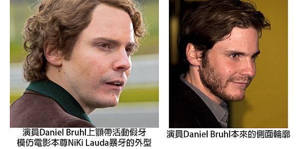 圖三Daniel Bruhl plays Niki Lauda