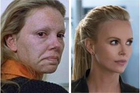 莎莉賽隆女魔頭玩命關頭8側臉