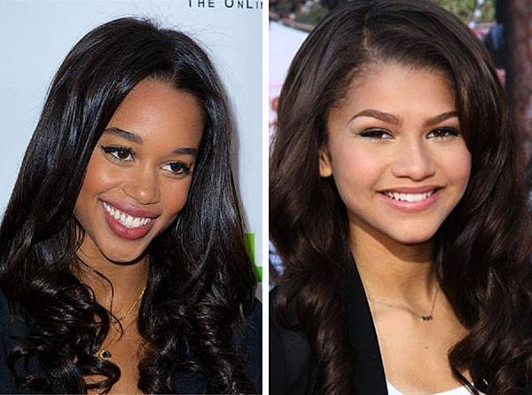Laura Harrier and Zendaya