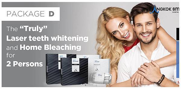 Laser teeth whitening Bangkok