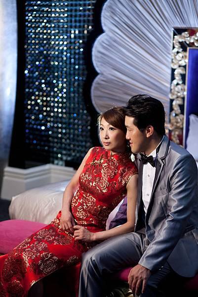 李小姐:我希望在我人生的大日子,可以穿祺袍展現傳統的氣氛。