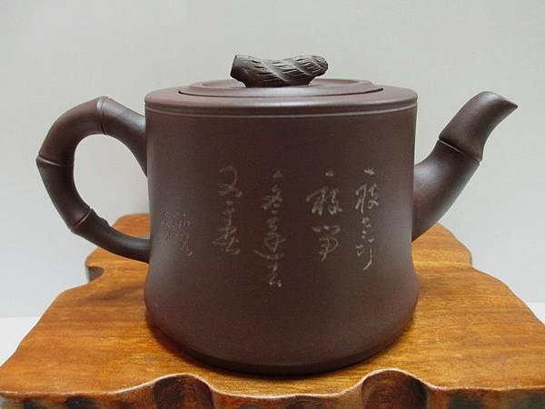 筍竹竹節壺1