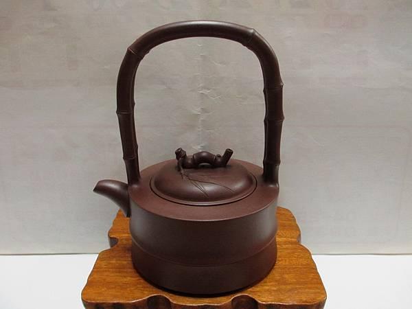 圓竹提樑壺1