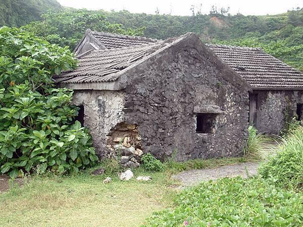 以前人住的石瓦屋