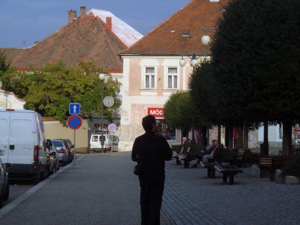 Kutná Hora小鎮廣場