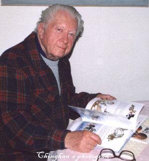 鼴鼠的創造者Zdeněk Miler(茲德內克‧米萊爾)