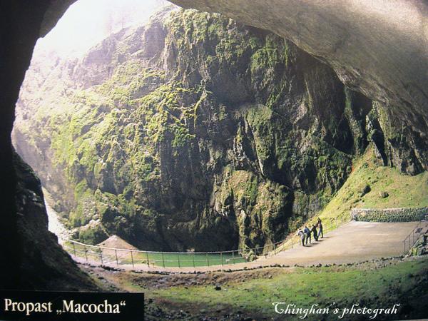 鐘乳石洞奇景之一