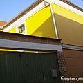 用色大膽的房子