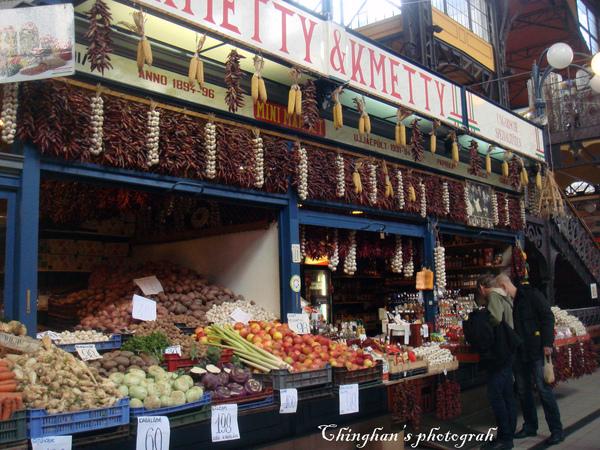 南北雜貨蔬菜攤。