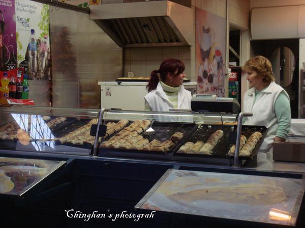 匈牙利的傳統餅店