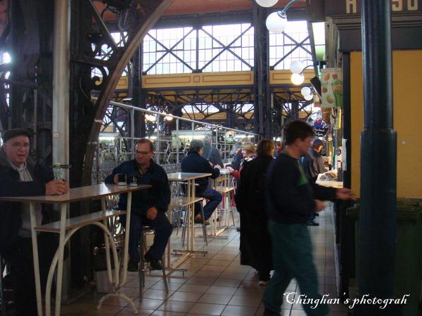 市場二樓的餐廳