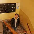 hostel的樓梯間