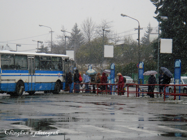 Blansko 的公車站