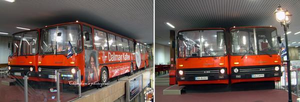 公車站二樓的巴士咖啡館