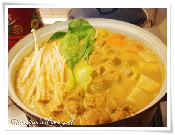 椰漿咖哩火鍋