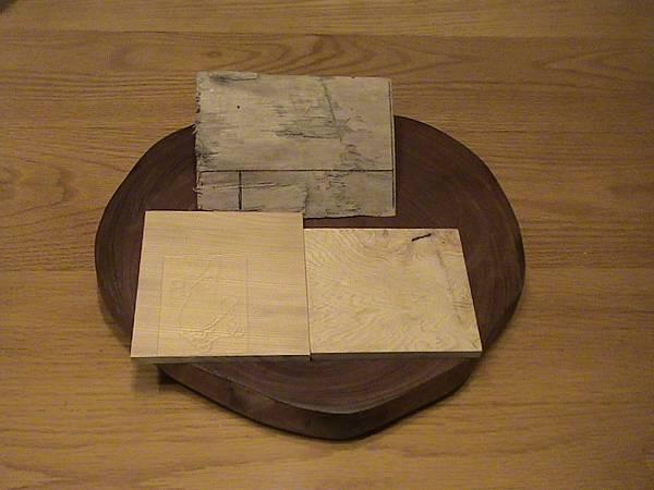 黃檜木樟木混搭餐巾紙架