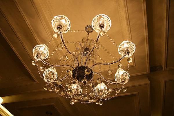 漂亮的水晶燈