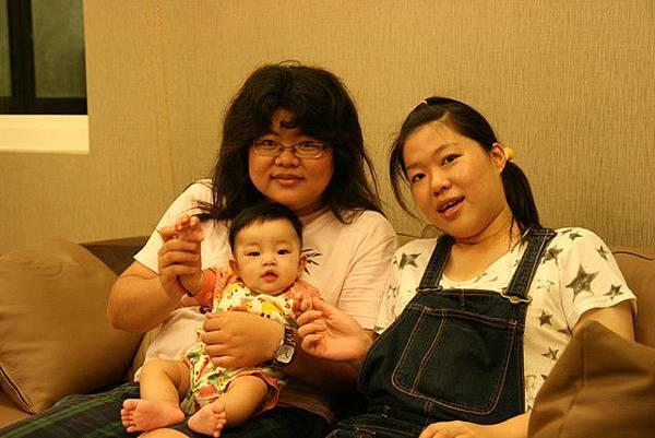 mimi跟大姑二姑
