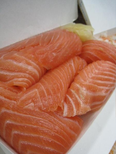 你以為這啥!超大塊的握壽司