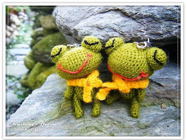 迷你情侶蛙
