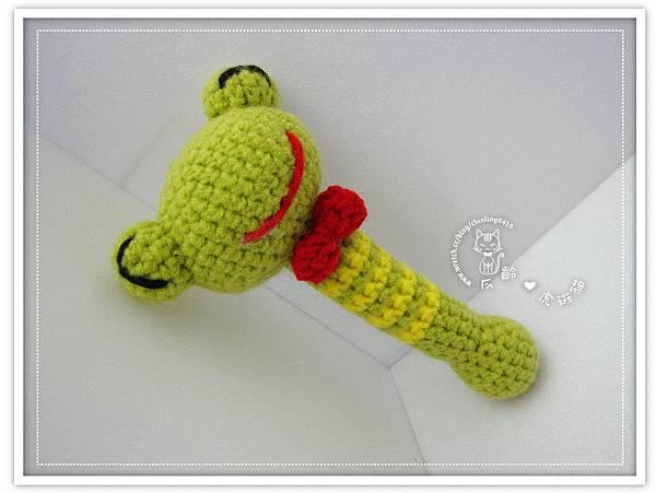 青蛙.棒狀手搖鈴