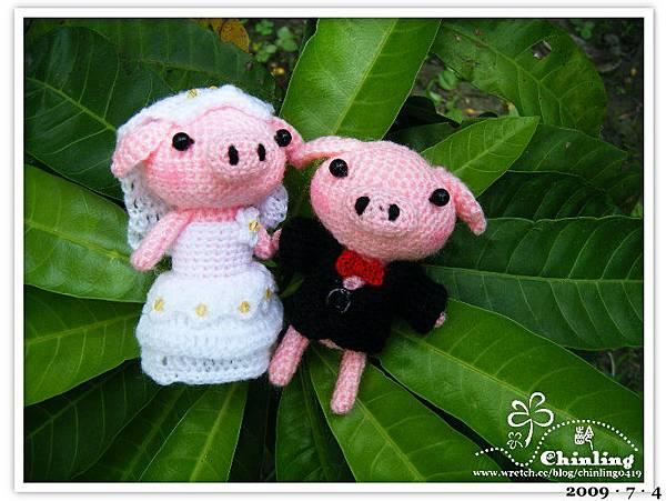 豬仔.婚禮娃娃