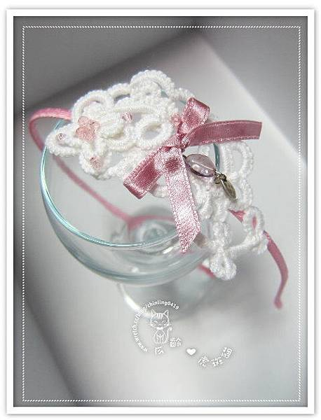 浪漫白色蕾絲編織