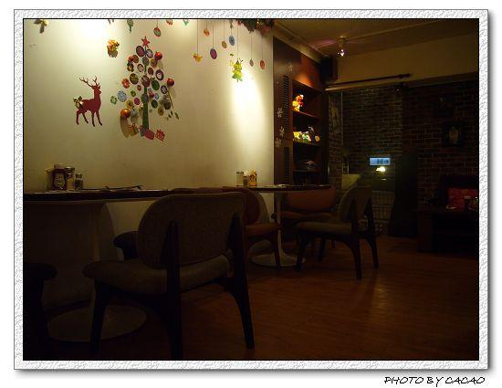 地下一樓餐廳內景