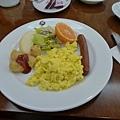 渡假村的早餐