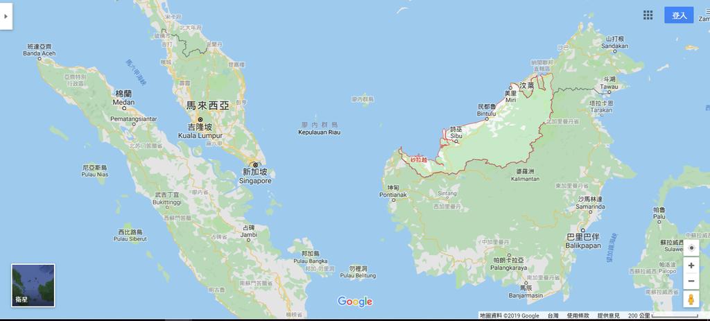 馬來西亞地圖