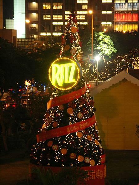 RITZ聖誕樹