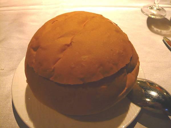 法式麵包玉米濃湯 -1