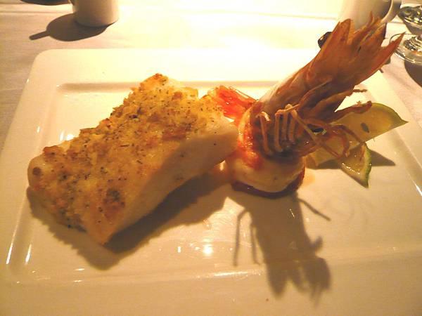 主餐-龍鱈明蝦