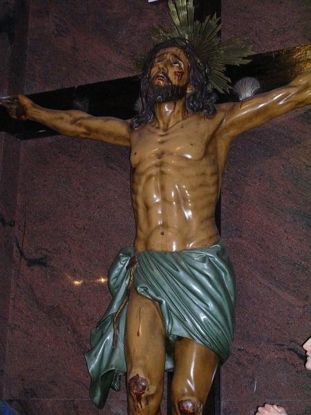 阿門的雕像.....