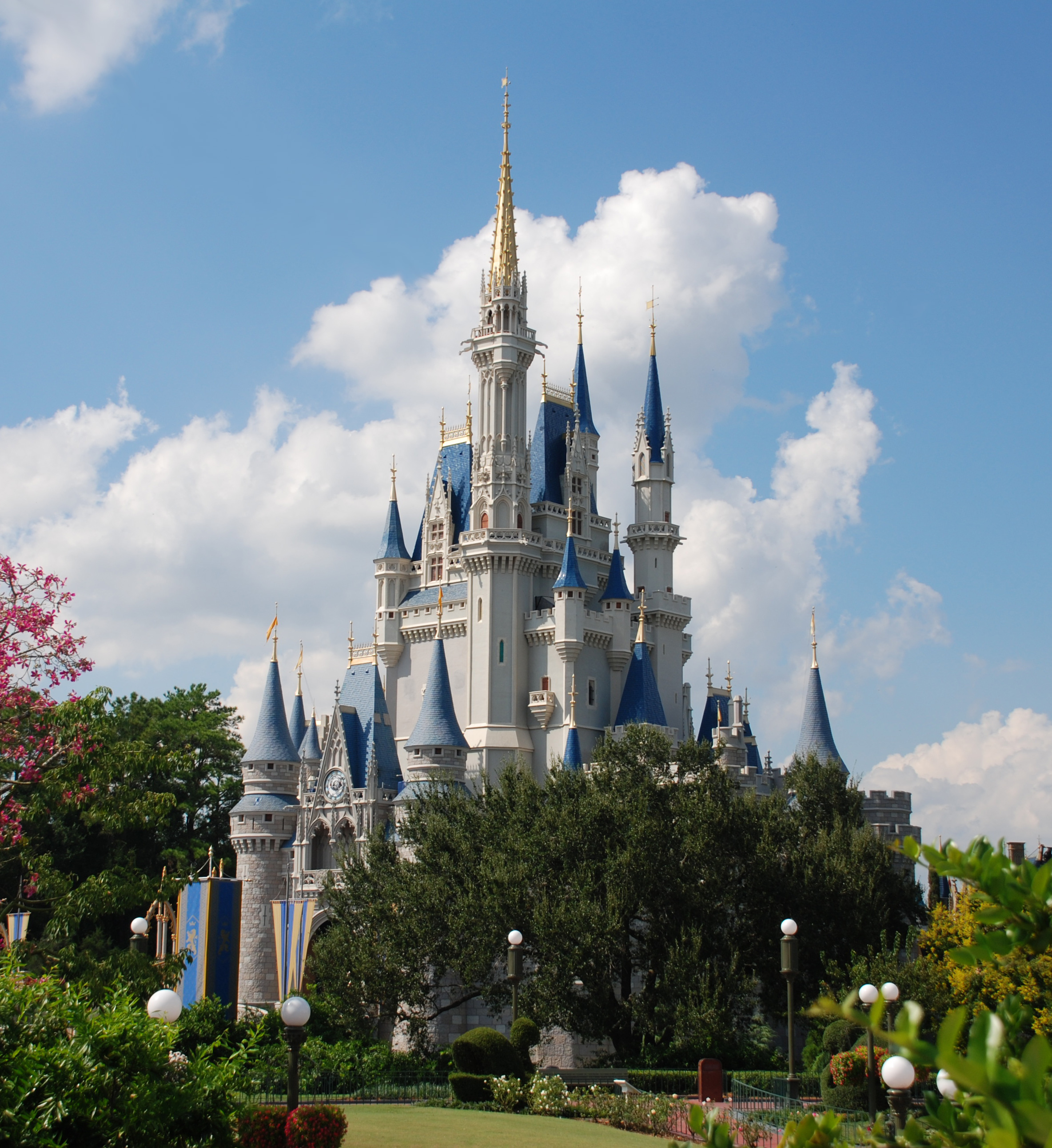 Cinderella Castle @ Florida Disneyland