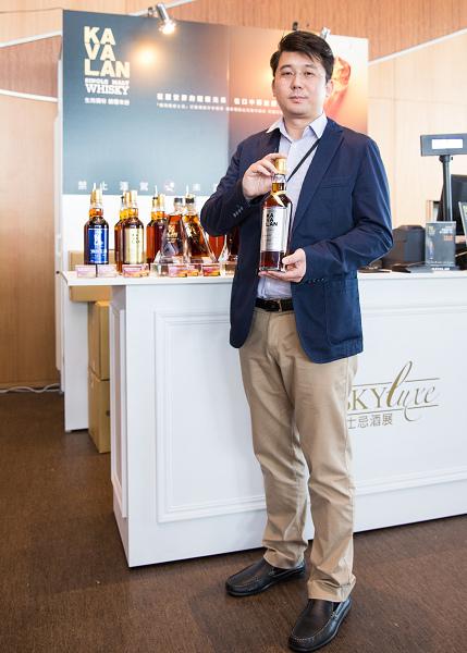 Whisky Luxe-噶瑪蘭首席調酒師張郁嵐力推酒展限量專賣酒-Moscatel雪莉桶威士忌原酒.jpg