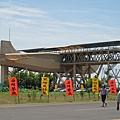 大鵬灣的飛機造型觀景台.JPG