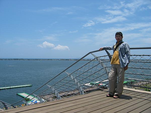 觀景台上看大鵬灣5.JPG