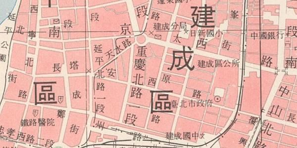 臺北市街道圖1976-2
