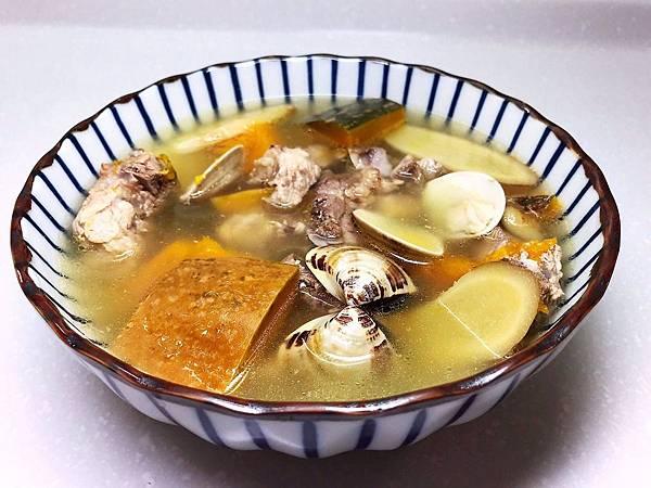 南瓜蛤蜊排骨湯