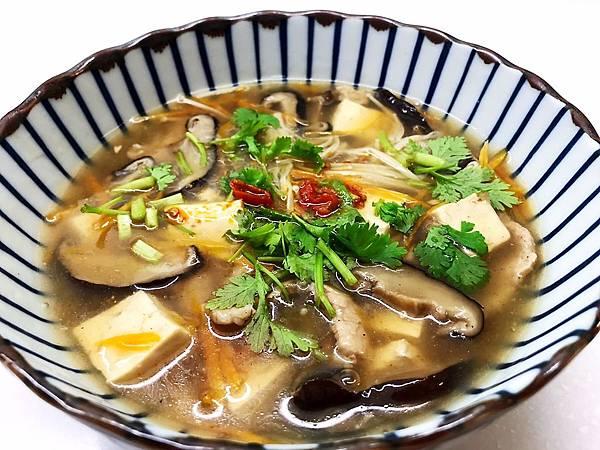 豆腐肉片什錦羹