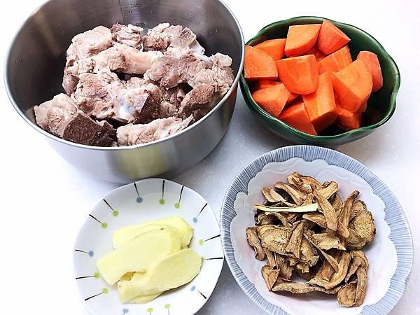 牛蒡蔬菜排骨湯-2