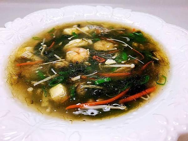 綠藻海鮮羹-1