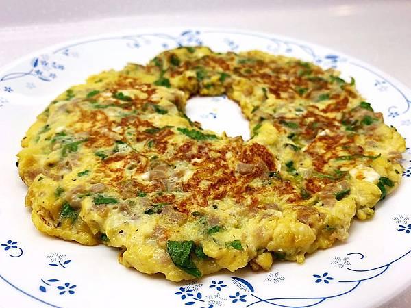 芹菜葉菜脯蛋-1