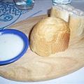 香烤麵包+黃瓜優格醬