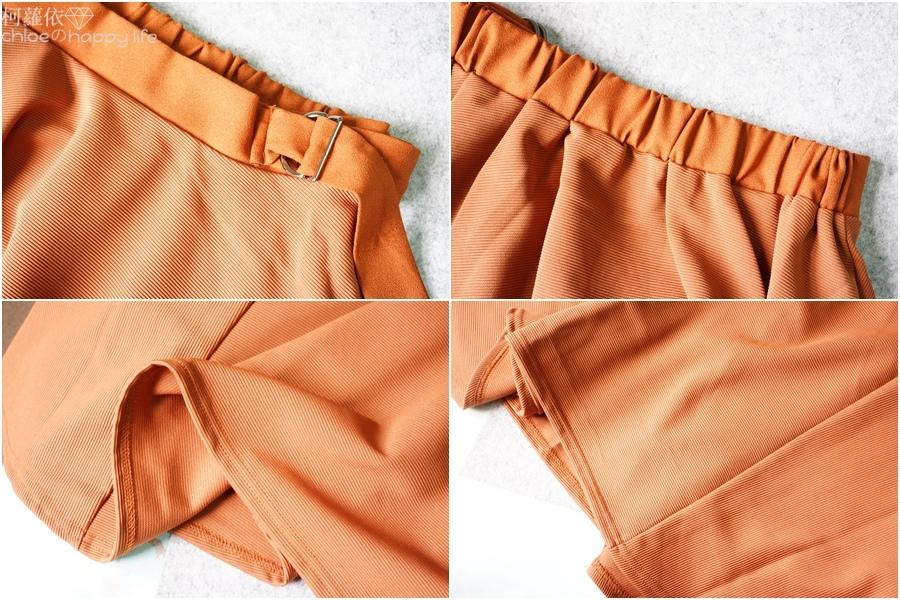 日本樂天購物osharewalker日系裙子秋天土色不規則裙穿搭14.jpg