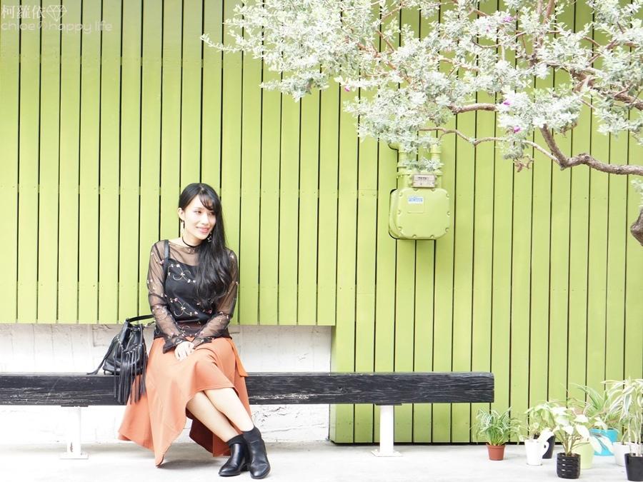 日本樂天購物osharewalker日系裙子秋天土色不規則裙穿搭15.JPG